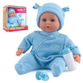 Little Treasure Doll - Blue Romper