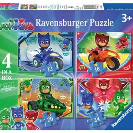 PJ Masks, 4 in a box