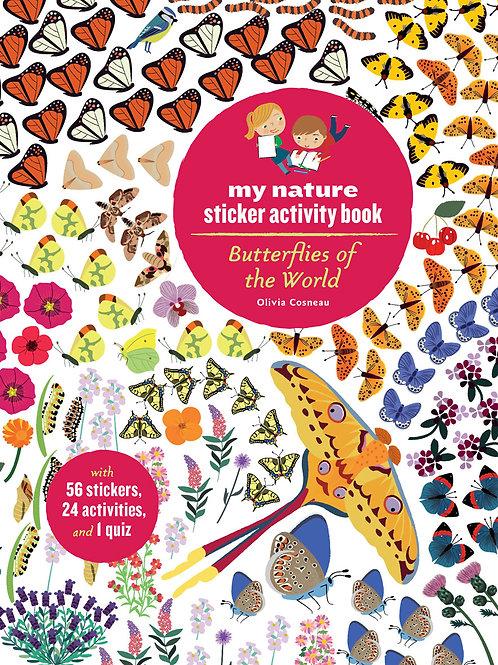 Butterflies of the World Activity Book