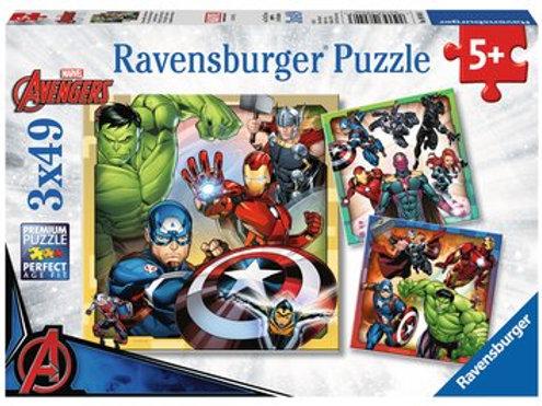 Avengers Assemble, 3x49pc
