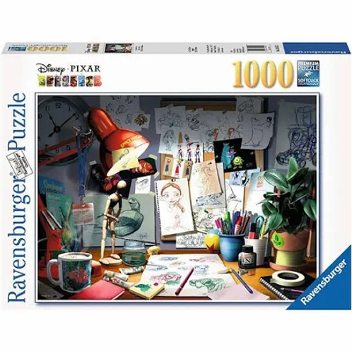 Disney Pixar The Artists Desk, 1000pc