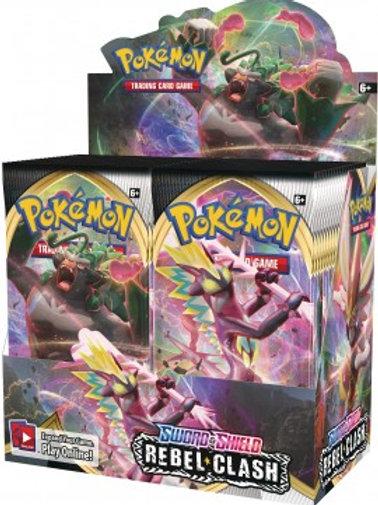Pokemon - Rebel Clash Boosters, Sold Singularly