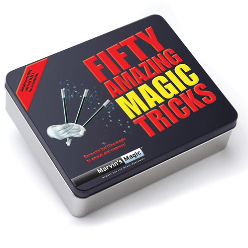 Fifty Amazing Magic Tricks in a Tin