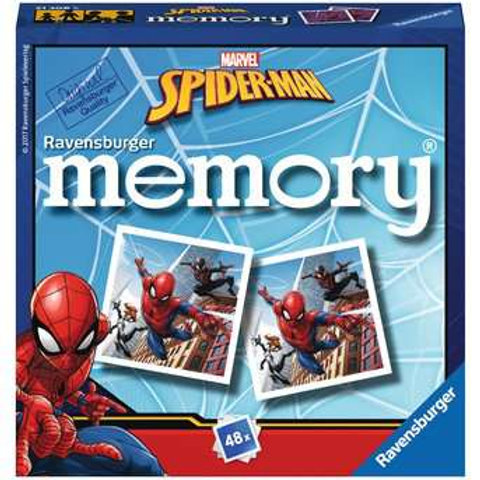 Spiderman Mini Memory Game