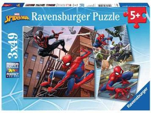 Spiderman, 3 x49pc