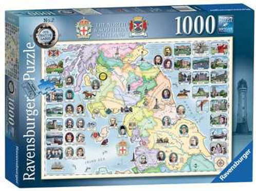 The North & Southern Scotland, 1000pc