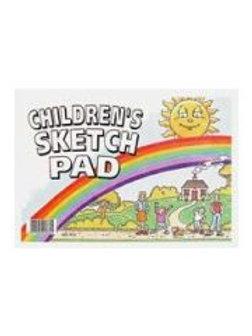 Children's Sketch Pad - 50 sheets