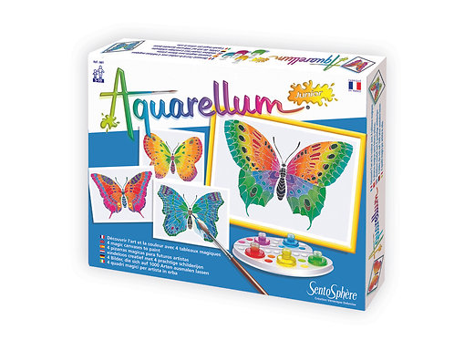 Butterflies - Aquarellum Junior