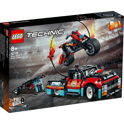 42106 Technic - Stunt Show Truck & Bike V29