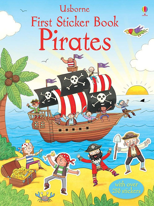 First Sticker Book - Pirates