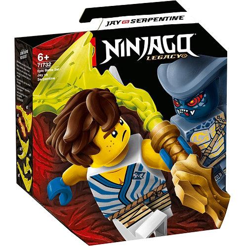 71732 Ninjago - Battle Set - Jay vs. Serpentine