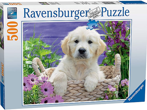 Golden Retriever Puppy, 500pc