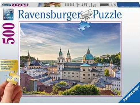 Salzburg, Austria (Extra Large Pieces), 500pc