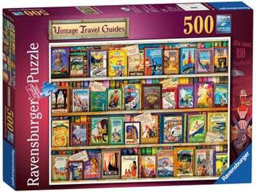 Vintage Travel Guides, 500pc