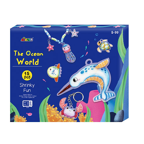 Ocean World - Shrinky Fun