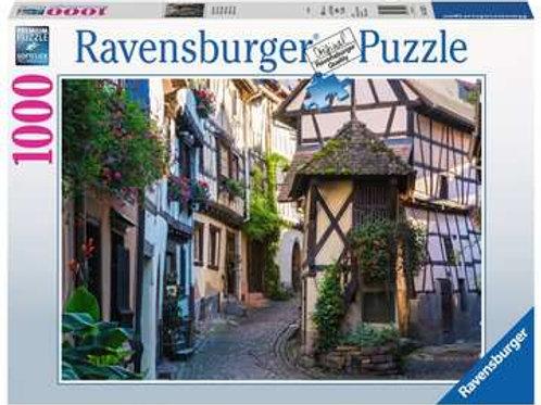 Eguisheim, Alsace, 1000pc