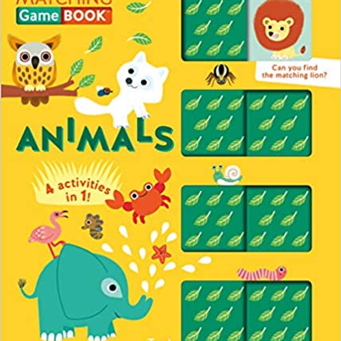 Matching Game Book: Animals