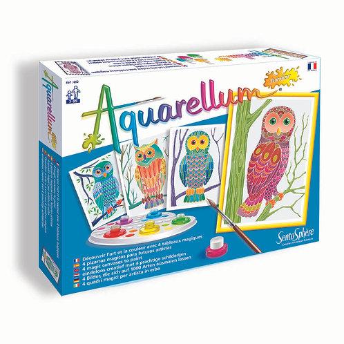 Owls - Aquarellum Junior