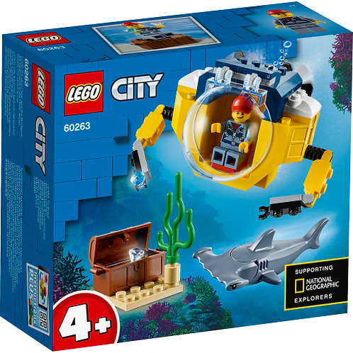 60263 City - Ocean Mini-Submarine