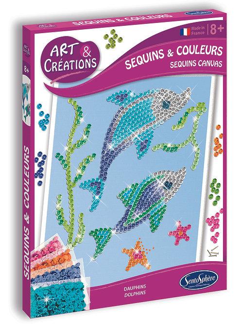 Dolphins Sequins & Colours