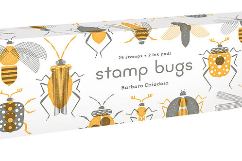 Stamp Bugs: 25 Stamps and 2 Ink Pads
