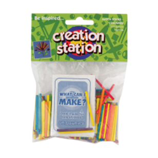 Match Sticks, Coloured