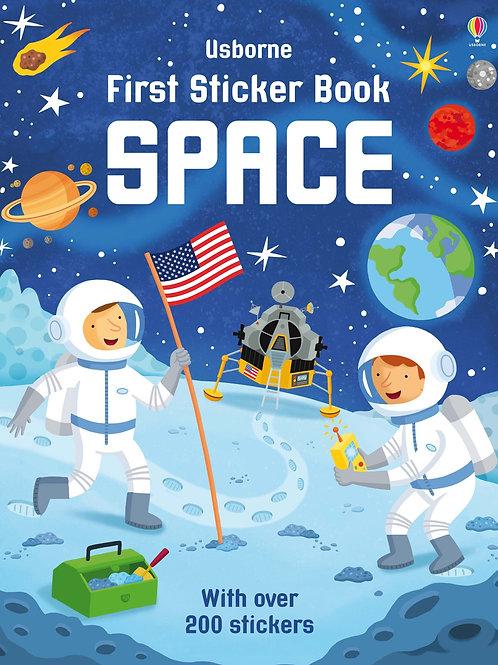 First Sticker Book - Space
