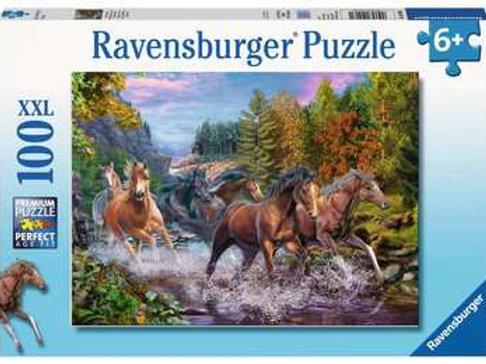 Rushing River Horses, 100pc