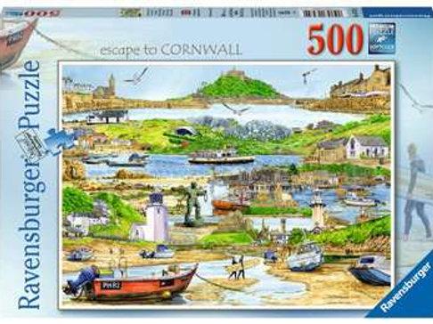 Escape to Cornwall, 500pc