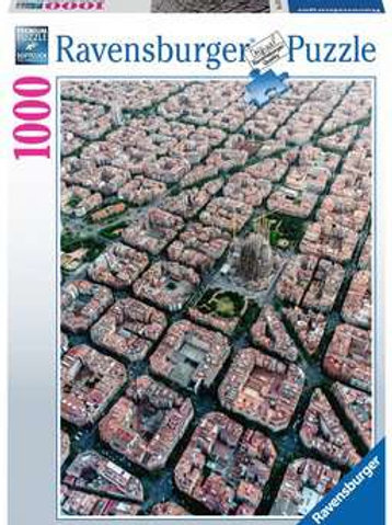 Barcelona From Above, 1000pc