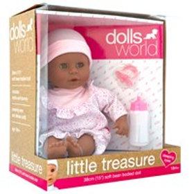 Little Treasure Doll - Pink Romper