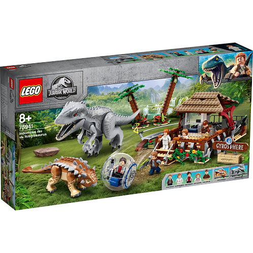 75941 Jurassic World - Indominus Rex vs. Ankylosaurus