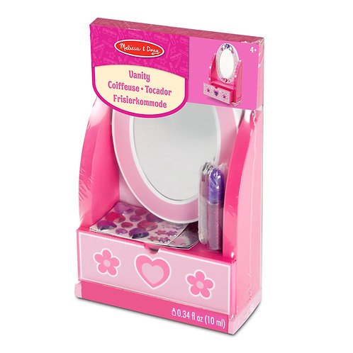 Decorate Your Own Vanity Mirror