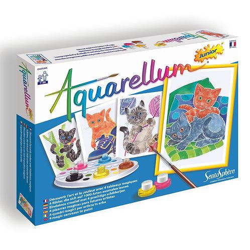 Cats - Aquarellum Junior