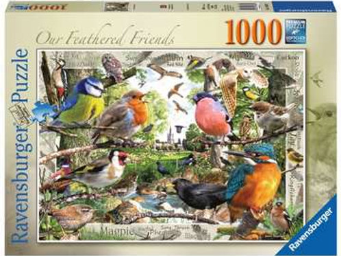 Our Feathered Friends, 1000pc