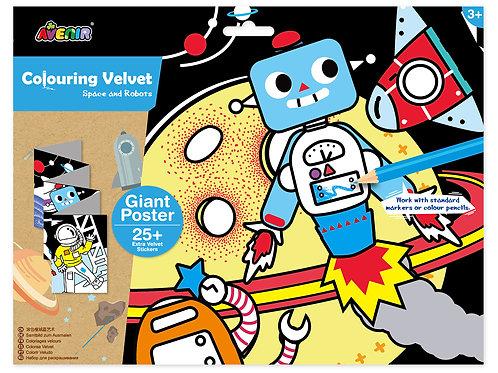 Velvet Giant Poster - Robot and Friends