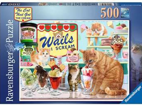 The Cat Who Got The Cream, 500pc