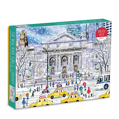 New York Public Library by Michael Storrings, 1000pc