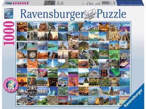 99 Beautiful Places on Earth, 1000pc