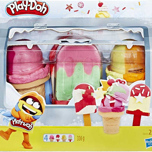 Playdoh Ice Pops n Cones Freezer