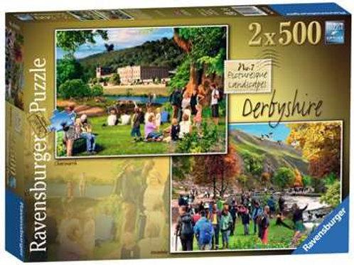 Picturesque Derbyshire 2x 500pc