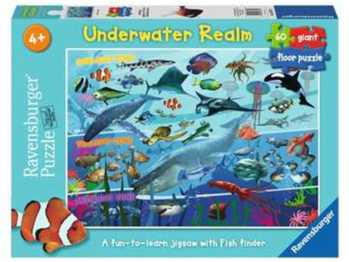 Underwater Realm Giant Floor Puzzle, 60pc