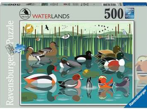 I like Birds - Waterlands, 500pc