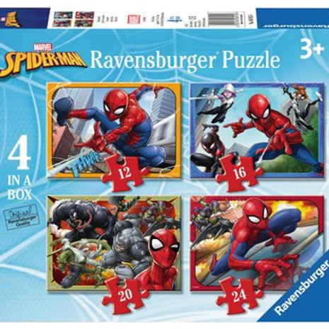 Spider-Man, 4 in a box