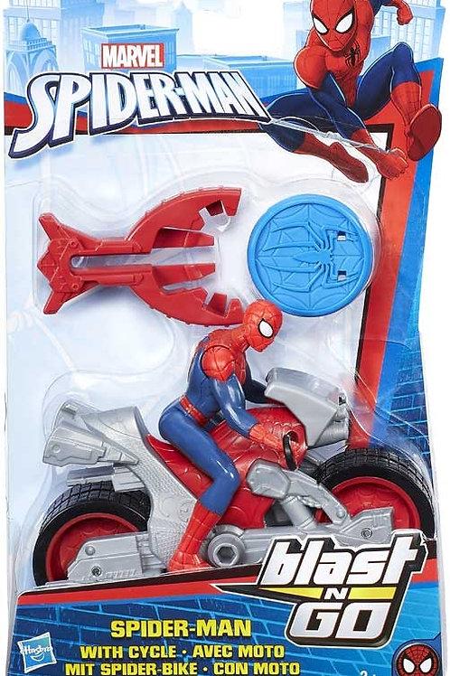 Spiderman Blast & Go