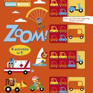 Matching Game Book: ZOOM!