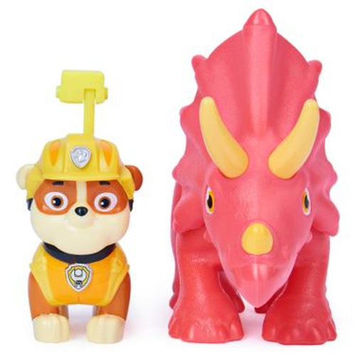 PAW Patrol, Dino Rescue Pup and Dinosaur Action Figure Set 6