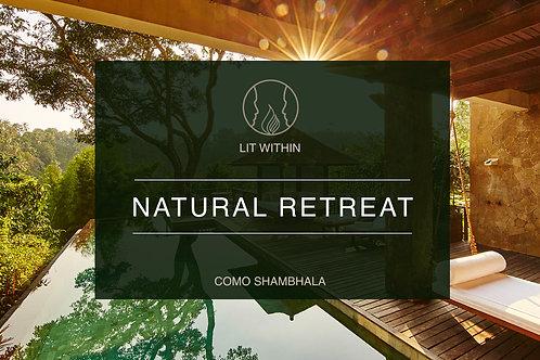 COMO Shambhala 14 day Transformation Retreat