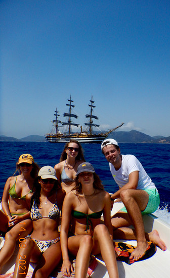 Nicola Beretta Covacivich e famiglia, Capo Teulada, agosto 2021