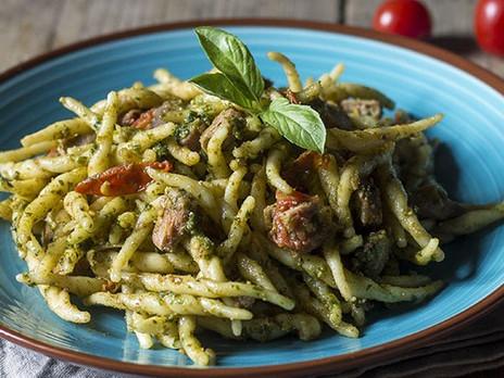il cuoco a bordo: pasta alla Carlofortina - Crêuza de mä